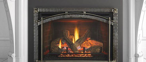 Heat n Glo gas inserts can transform an existing traditional masonry fireplace into a beautiful and efficient heat source.